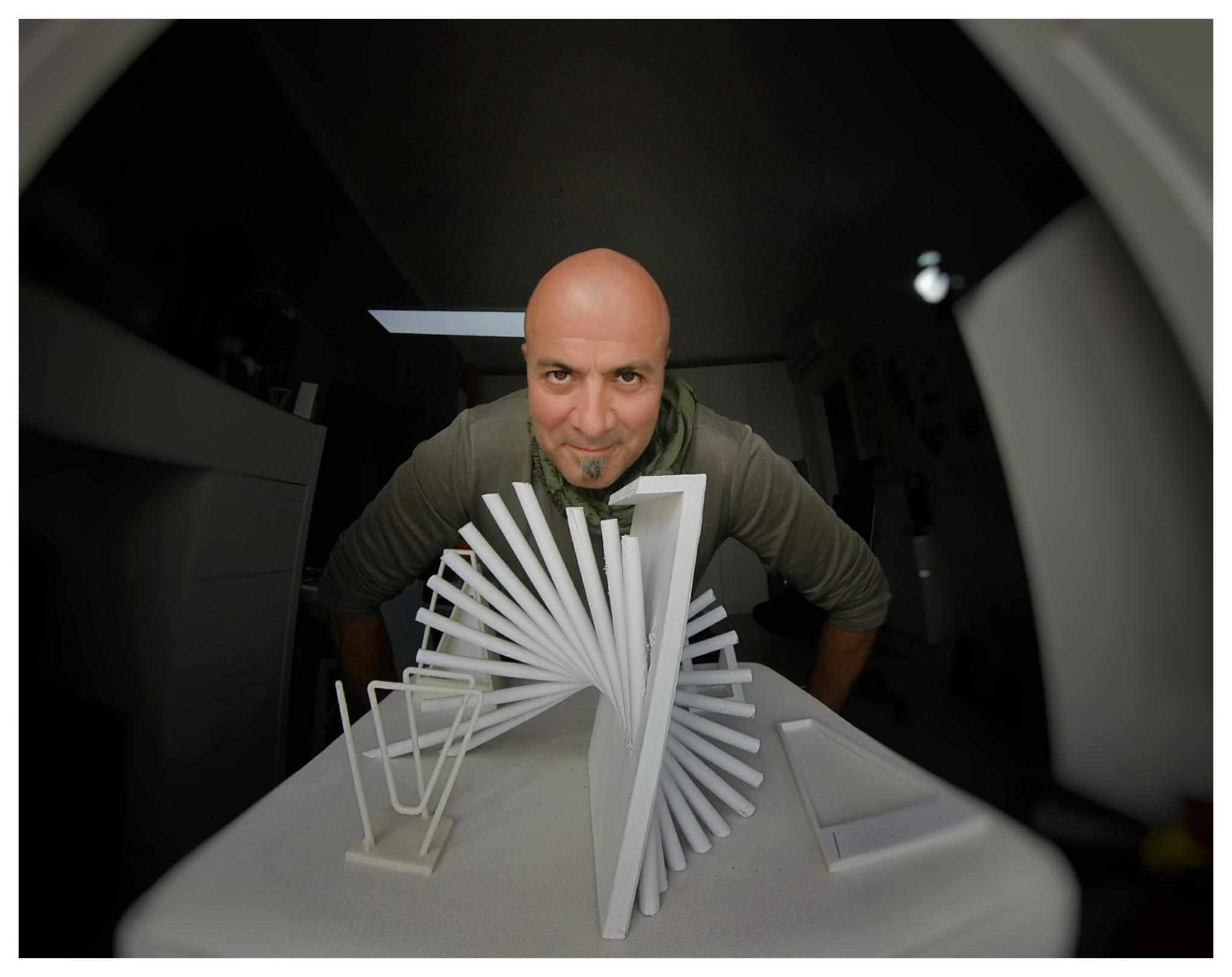 Johnny Dos Passos, designer XXL Maison - maquette design