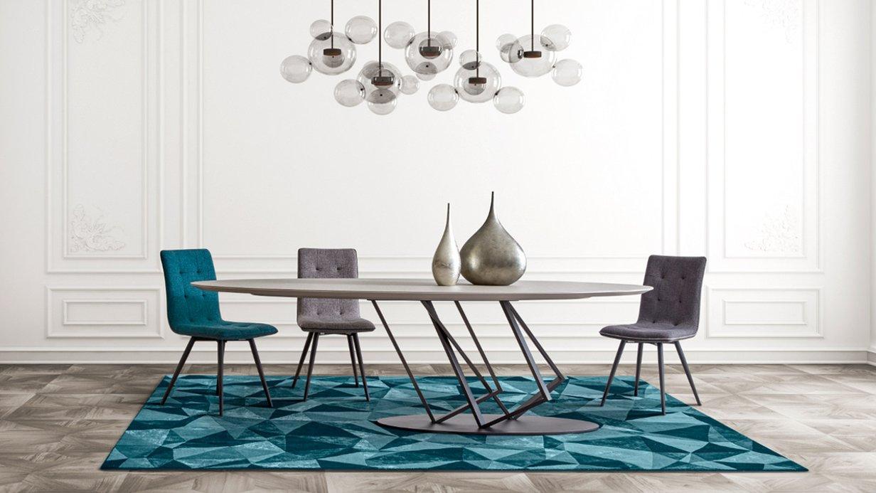 La table design VETRAA, by Johnny Dos Passos