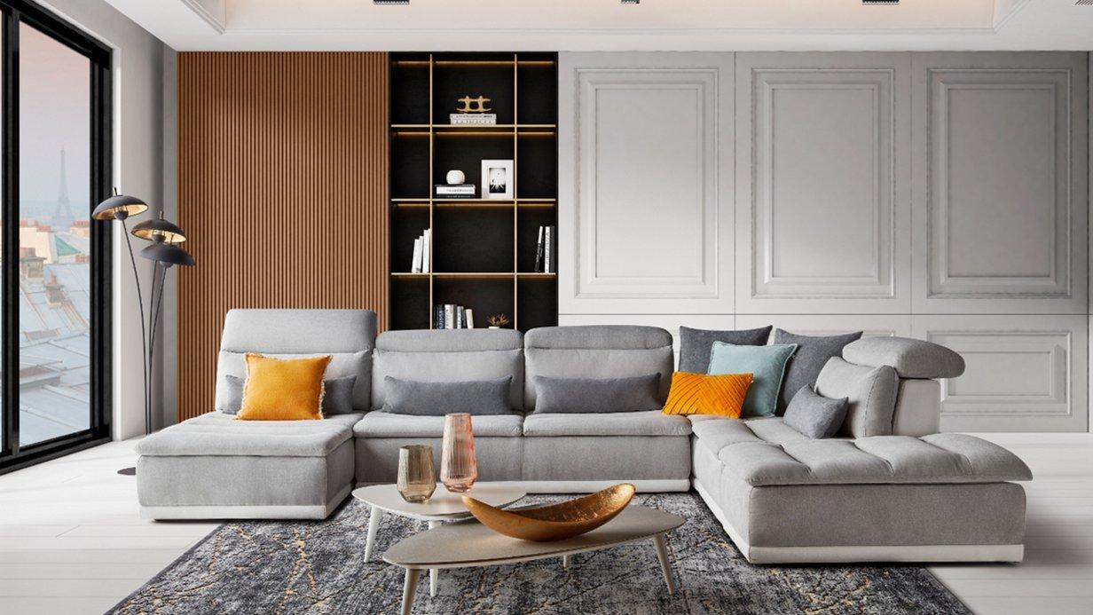 Canapé design PANORAMA 2 - XXL Maison